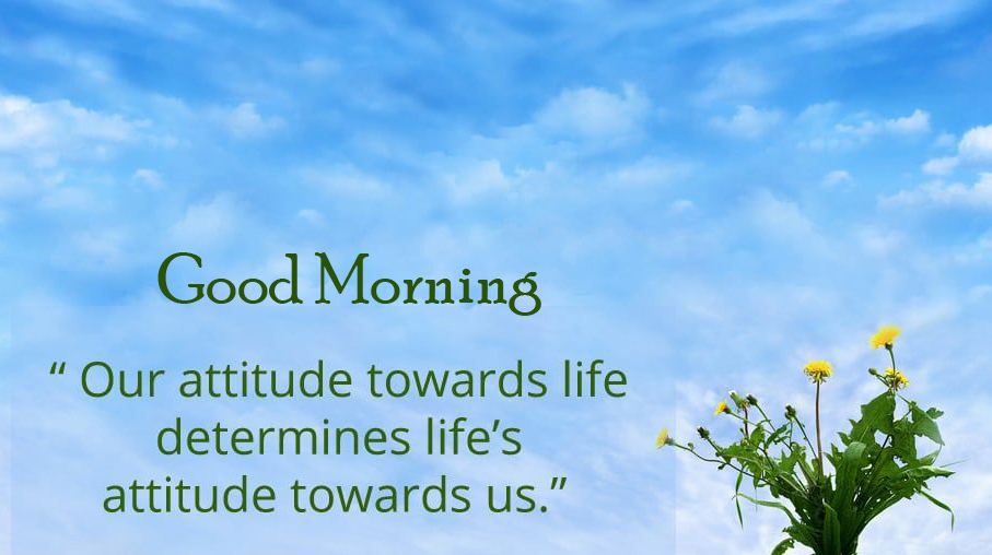 Good Morning with Attitude Quotes