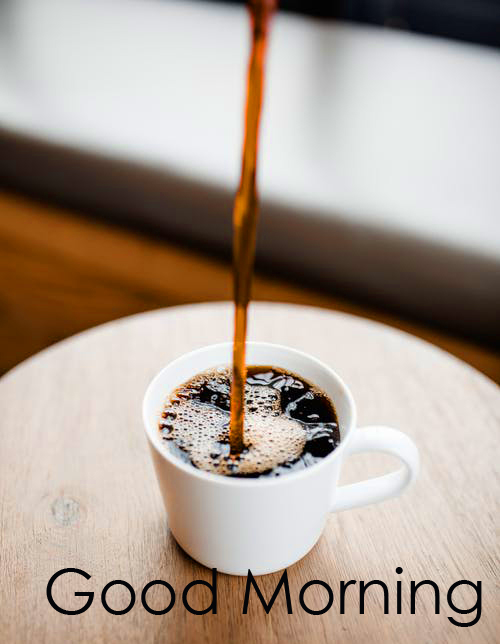 Good Morning with Best Black Coffee