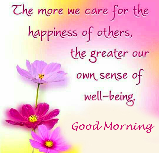 Good Morning with Best Quotes Pic