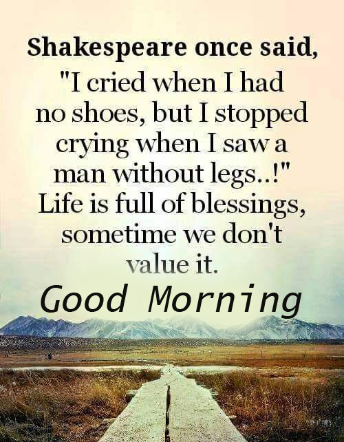 Good Morning with English Quotes