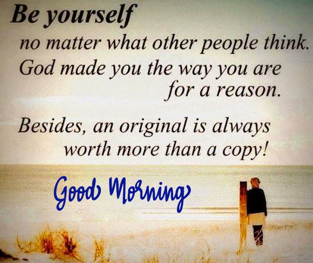 Good Morning with Inspirational Thought