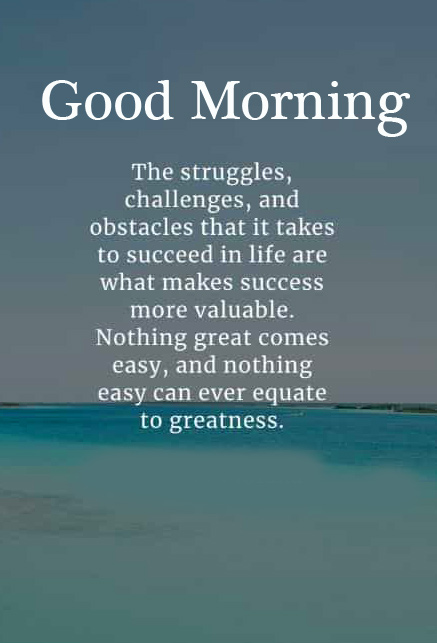 Good Morning with Lovely Motivational Quotes