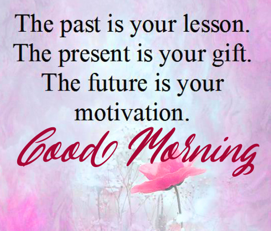 Good Morning with Lovely Thought Picture