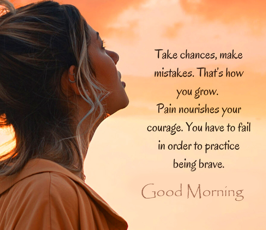 Good Morning with Positive Quotes Image