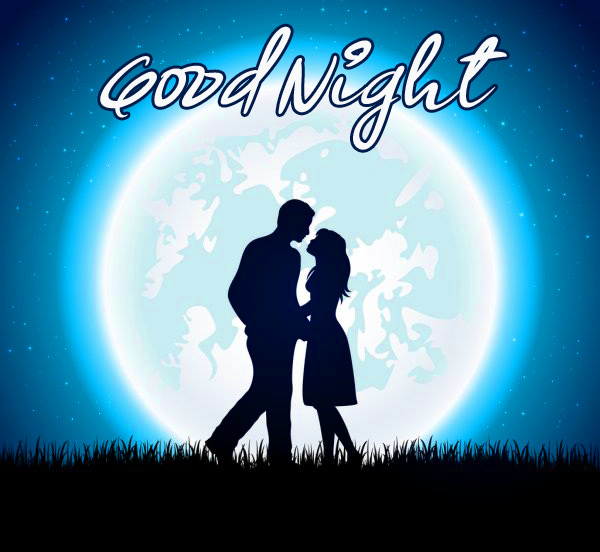 Good Night Picture with Couple