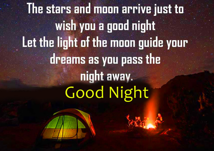 Good Night Quotes Message Image HD