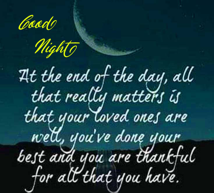 Good Night Quotes Picture
