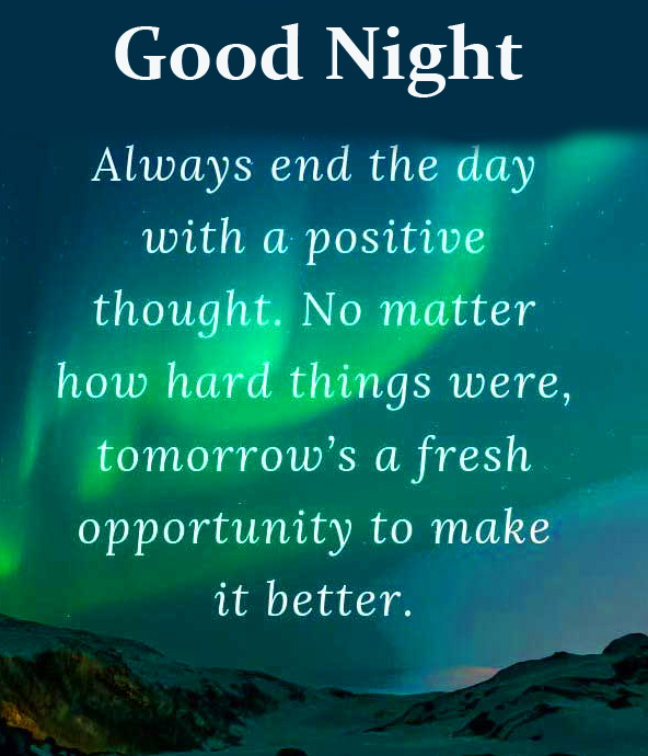 Good Night Quotes Wish Picture HD