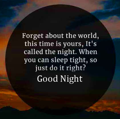 Good Night Quotes Wish Picture