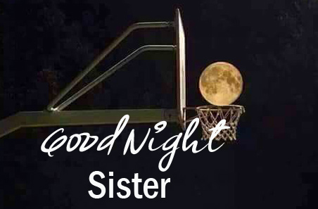 Good Night Sister Wishing Picture