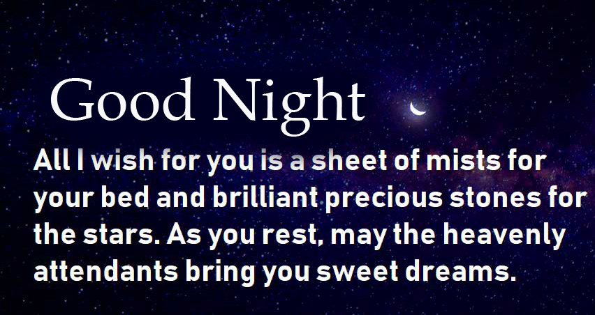 Good Night Wish with Best Quotes