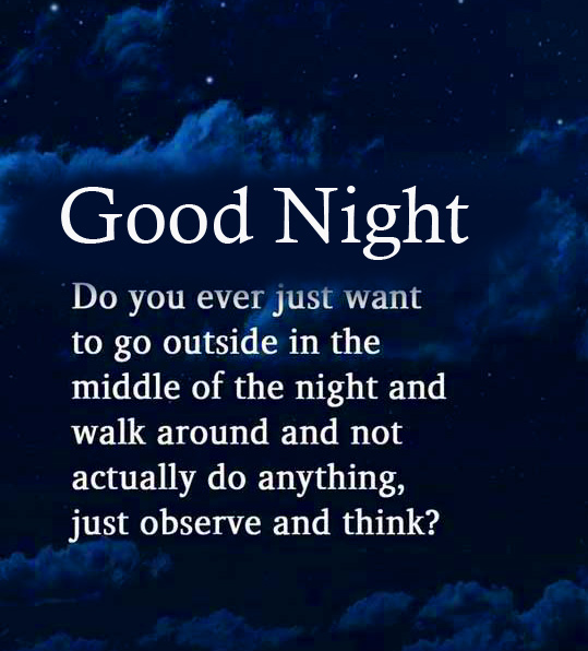 Good Night Wish with Quotes