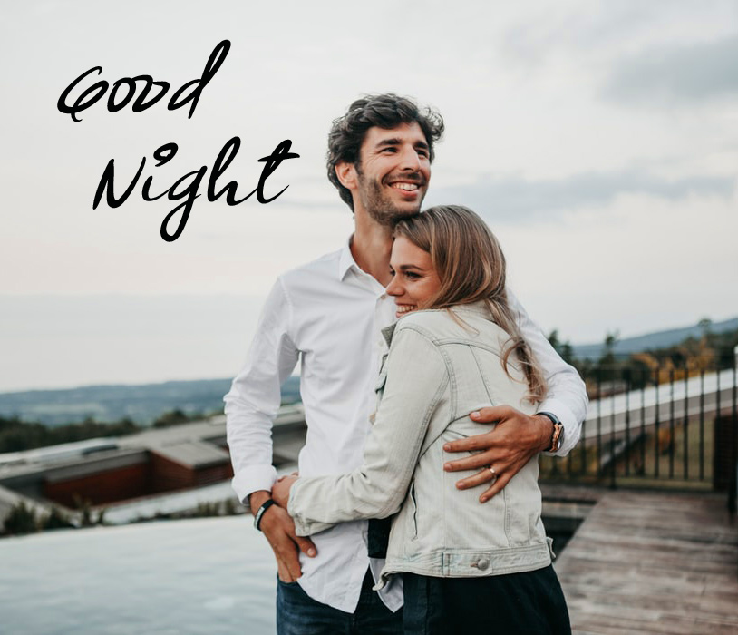 Good Night with Beautiful Couple Picture