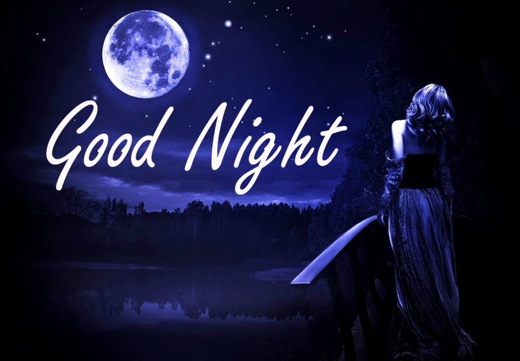56+ Good Night Image with Moon and River (hd quality)