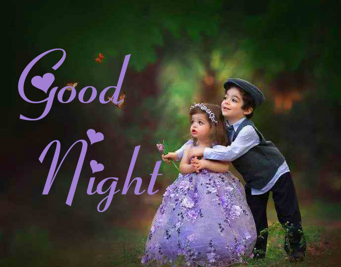 Good Night with Sweet Couple