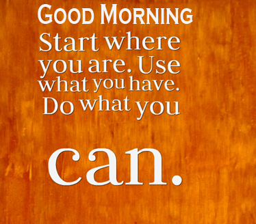 Good Thought Good Morning Image