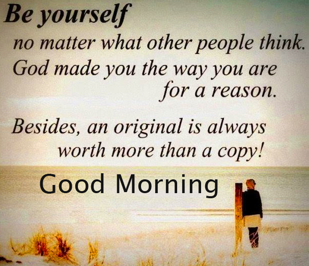 Great Quotes Good Morning Image