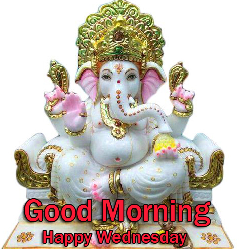 HD Ganesha Good Morning Happy Wednesday Picture