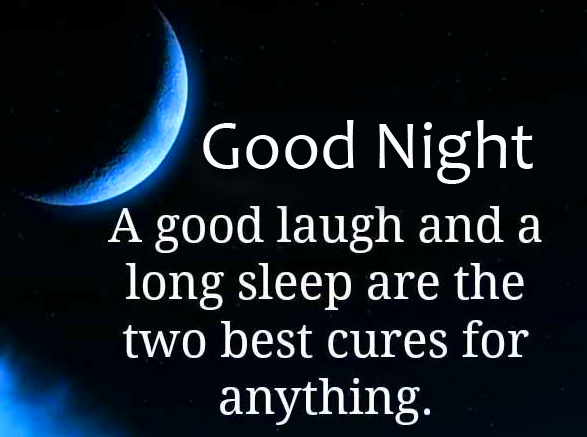 HD Good Night with Night Sleep Quotes Pic