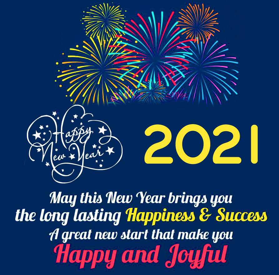 HD Happy New Year Message Image