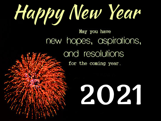 HD Happy New Year Message Pic