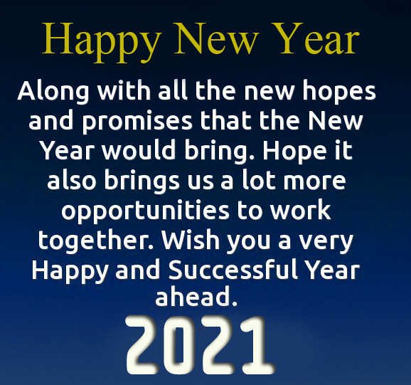 HD Happy New Year Wish Picture