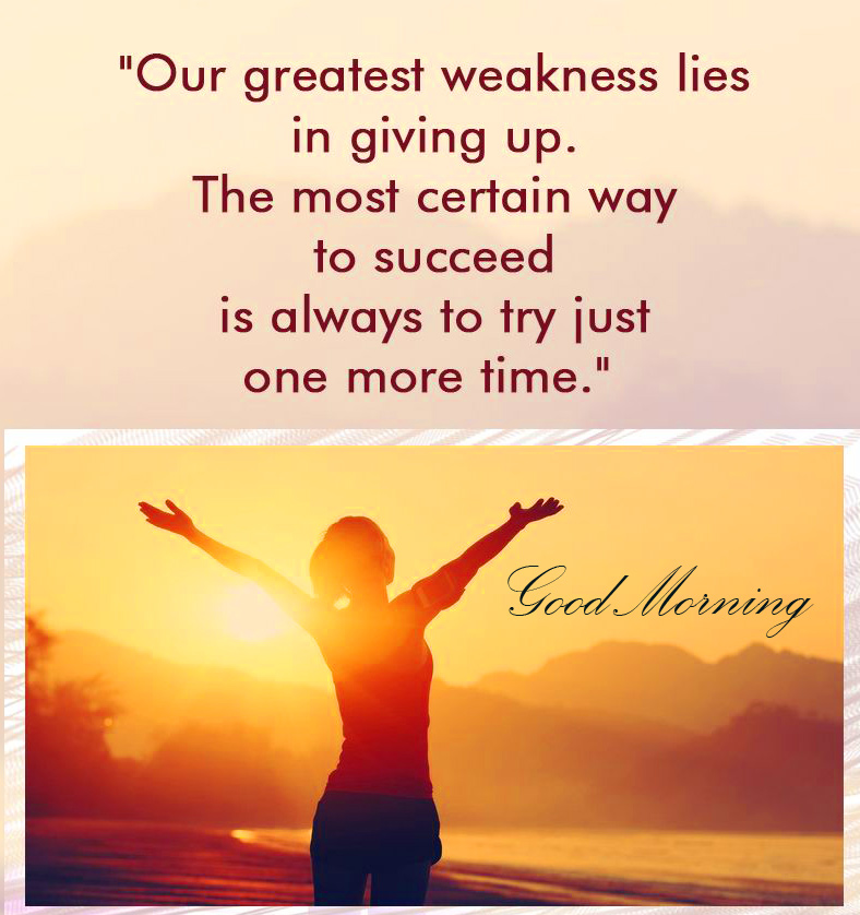 HD Quotes Good Morning Image