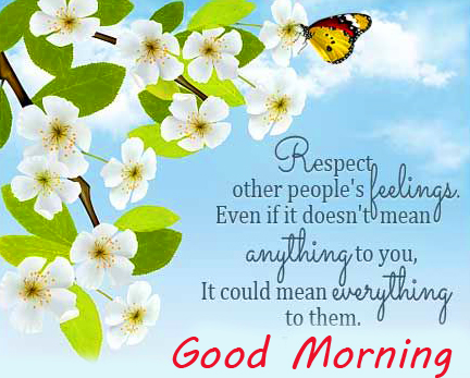 HD Quotes Good Morning Pic