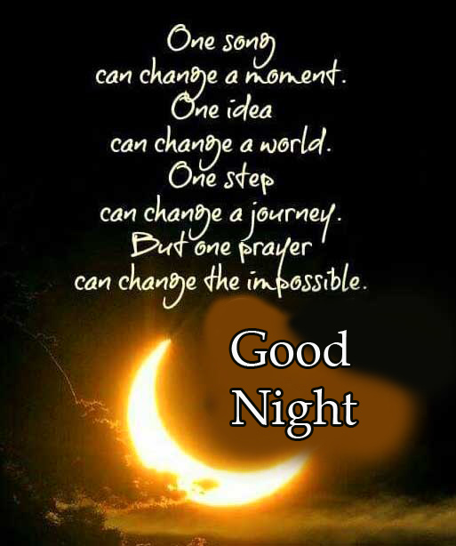 HD Quotes Good Night Wallpaper and Pic
