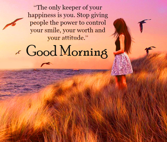 Happiness Quotes Good Morning Wallpaper