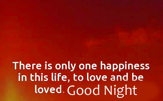 Happiness Quotes Good Night Image HD