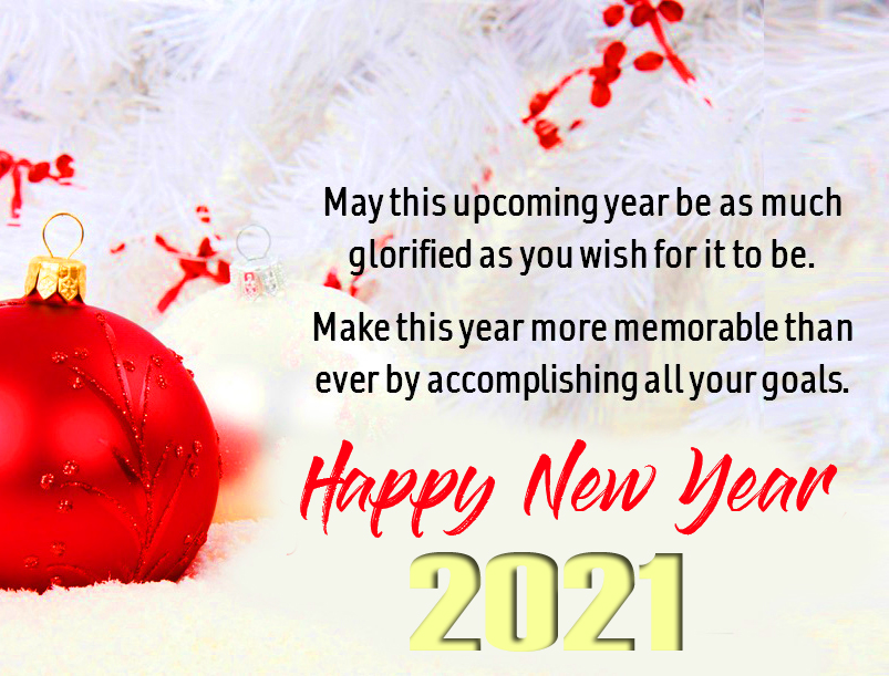 Happy New Year Wish Image and Pic
