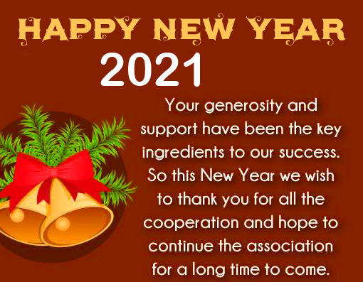 Happy New Year Wish with Quotes