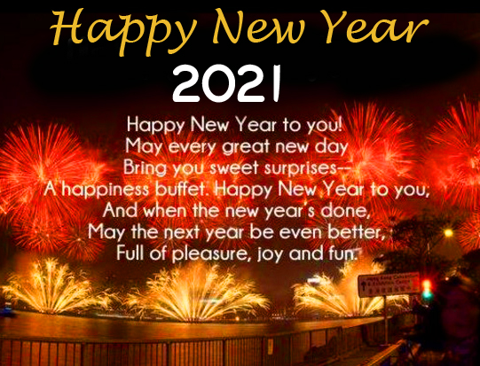 Happy New Year Wishes Image HD