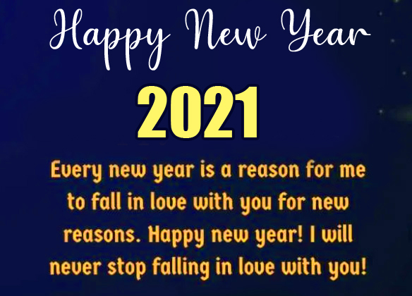 Happy New Year with Best New Year Wish