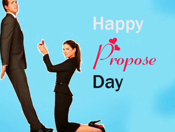 Happy Propose Day Couple Wallpaper