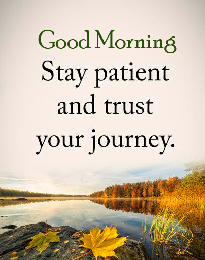 Journey Quotes Good Morning Image
