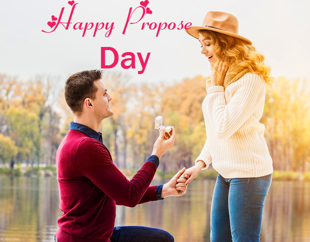 Latest and Best Couple Happy Propose Day Image