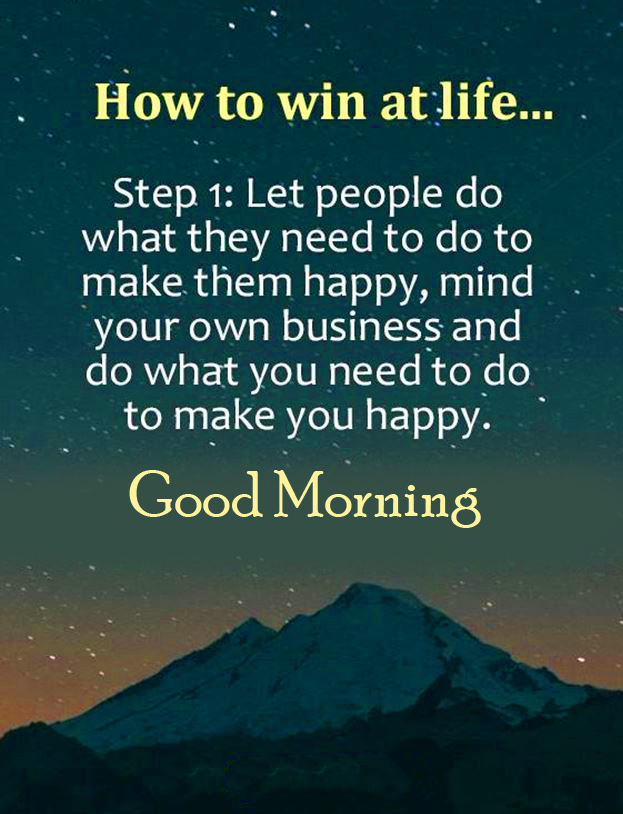 Life Quotes Good Morning Pic