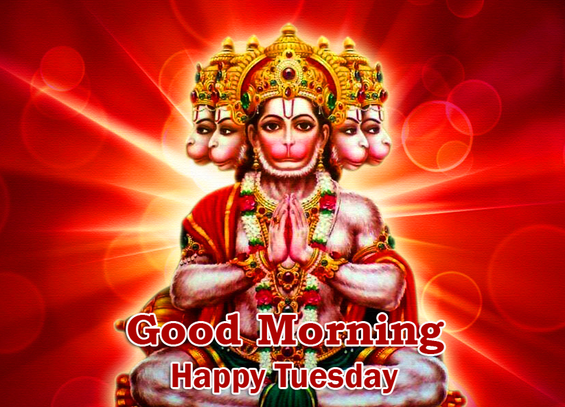 Lord Hanuman Good Morning Happy Tuesday Picture