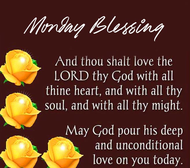 Lord Monday Blessing Image