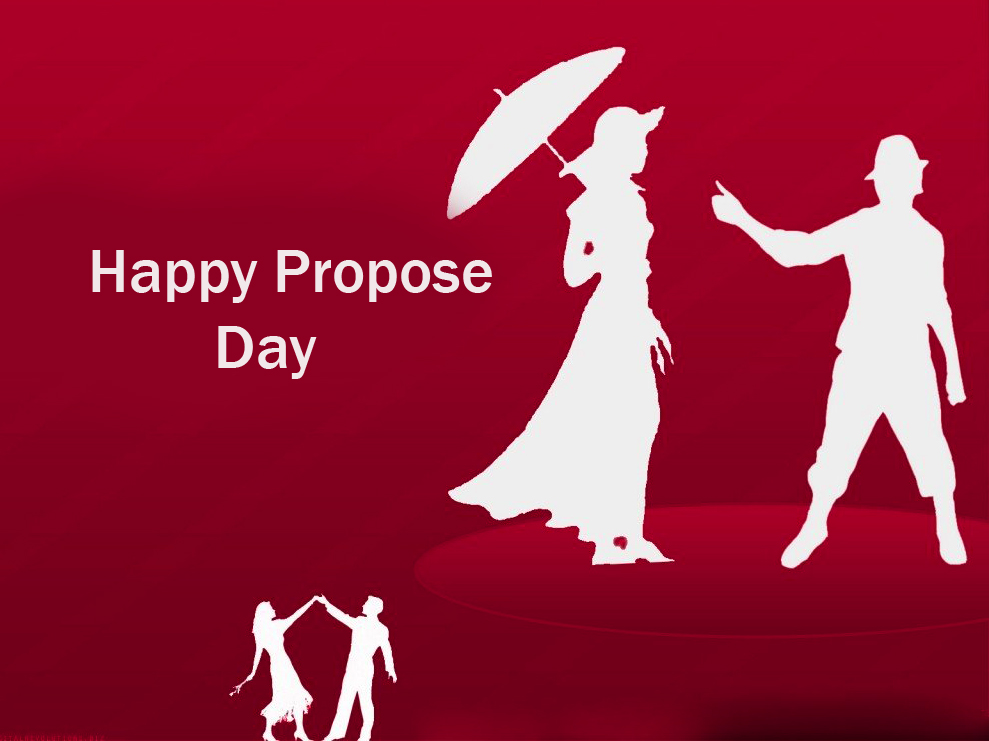 Love Couple Happy Propose Day Picture