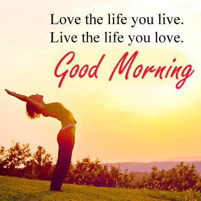 Love Life Thought Good Morning Picture