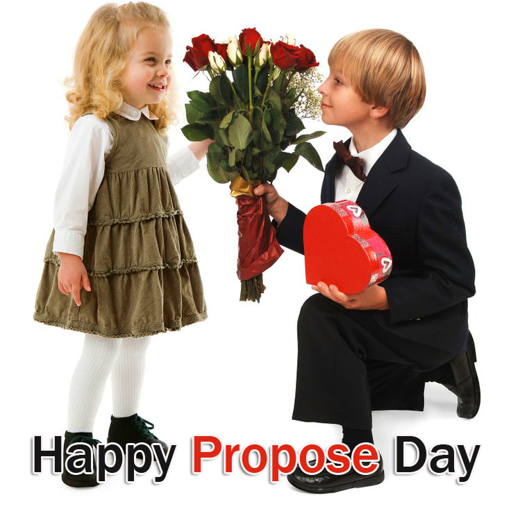 Lovely Couple Happy Propose Day Image