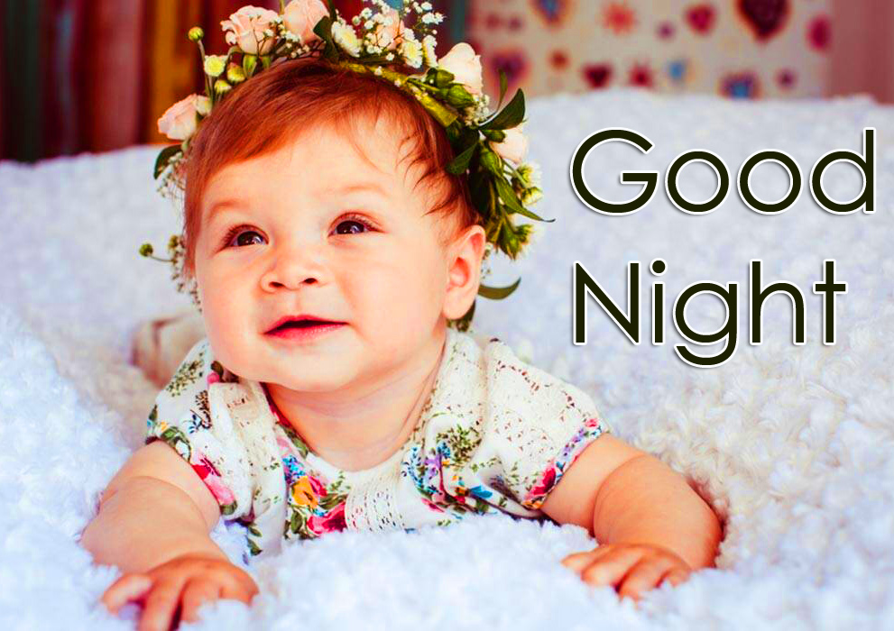 Lovely HD Baby Good Night Image