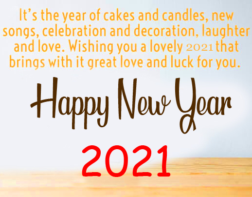 Lovely Happy New Year Picture HD