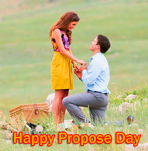 Lovely Happy Propose Day Image