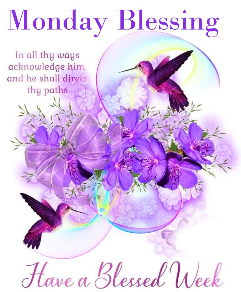 Lovely Monday Blessing Picture