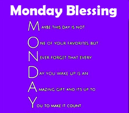 Monday Blessing Picture HD