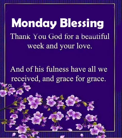 Monday Blessing with Beautiful Wish